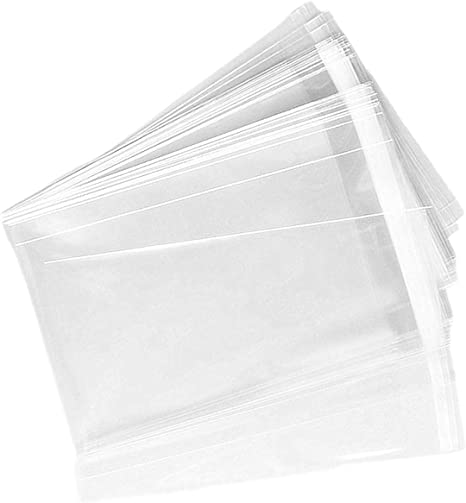Candle Clear Resealable Cello Cellophane Bags Good for Bakery Cookie Soap 4x6inch-200Pcs