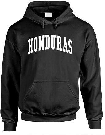 Honduras Polyester Warm Fleece Hoodie Made in USA