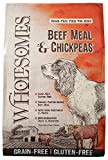 Wholesomes Beef Meal & Chickpeas Grain-Free Dry Dog Food, 35 lb. For Sale