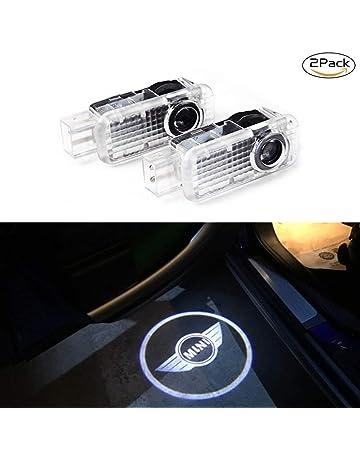 Qinsir Porte De Voiture LED 3D Voiture Lumi/ère Dentr/ée /Éclairage Dentr/ée Laser Projecteur Courtoisie Bienvenue Lampe Ombre Logo Lumi/ère Car Door Logo Projector Lights Custom Your Logo