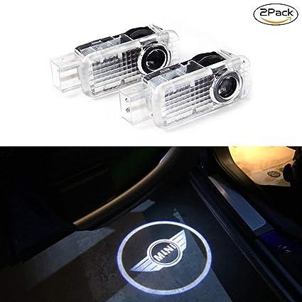 Spongent 2 piezas de luces de cortesía para puerta de coche con ...