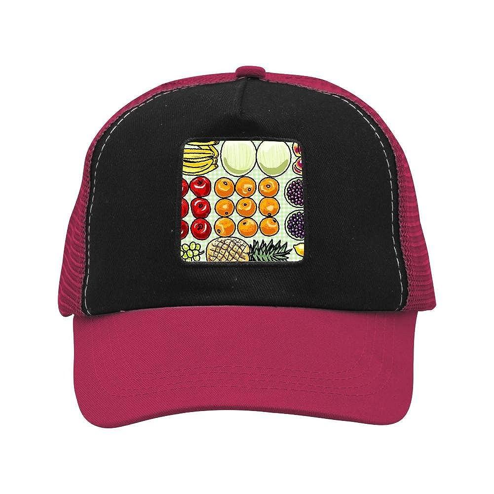 Nichildshoes hat Mesh Caps Hats Adjustable for Men Women Unisex,Print Green Coversize