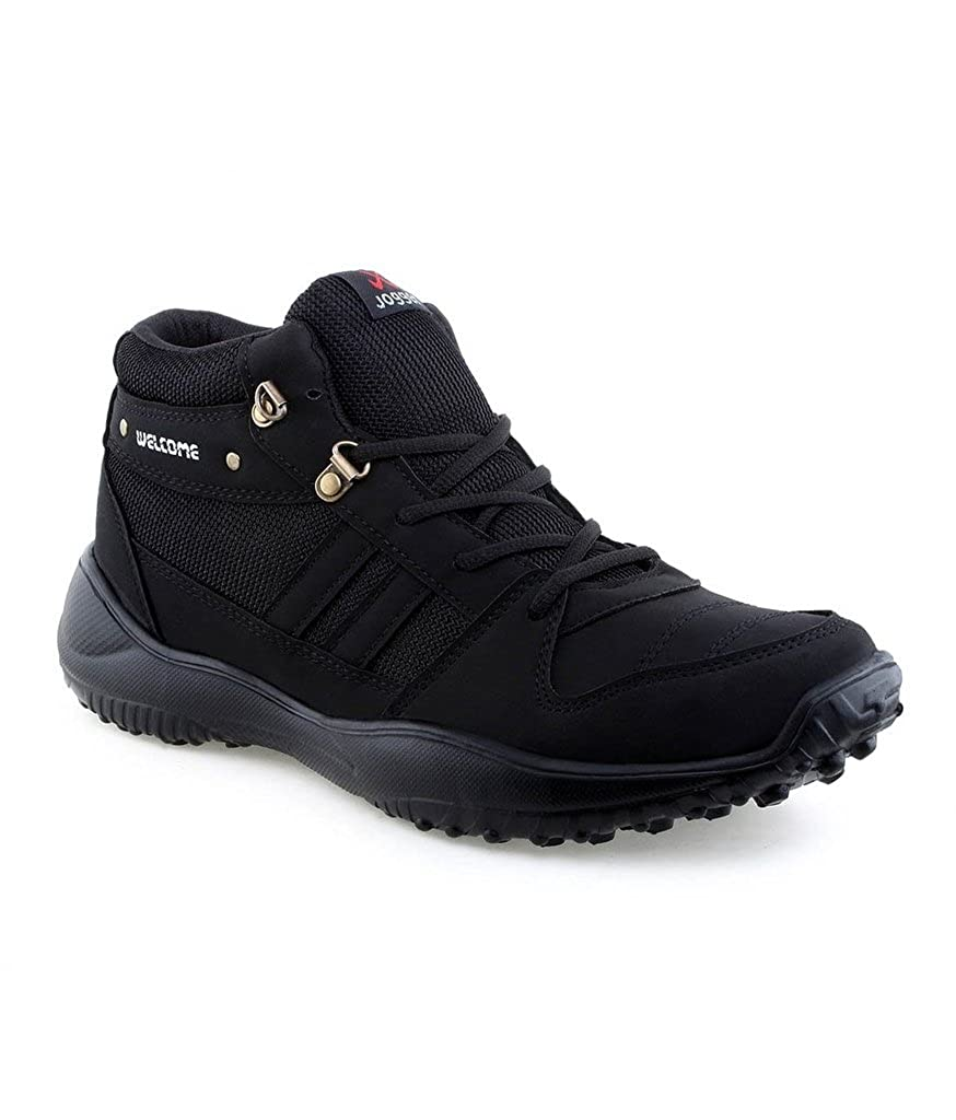 Buy Vonc Welcome Black Sports Shoes at