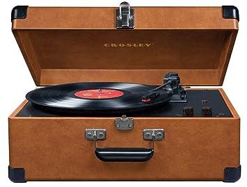 Amazon.com: Crosley cr249 TA Keepsake Tocadiscos USB (Negro ...