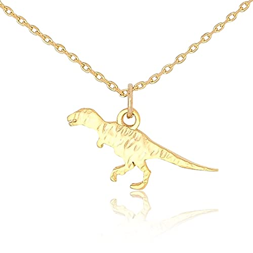 0821d66214e3b My Very Best Tiny Cute Dinosaur T- Rex Necklace, Sweet Gift Necklace