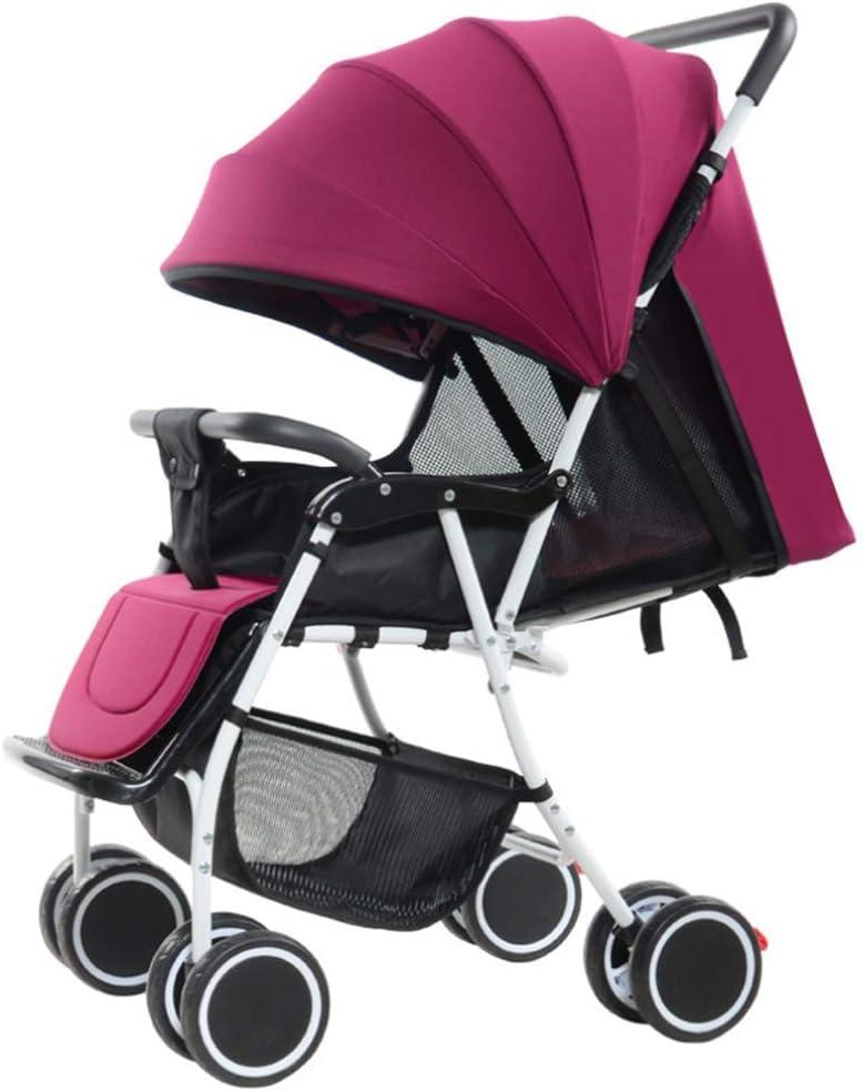 Agqlt Baby Stroller zwei bei ein hoch Landscape Baby Stroller 1-3 Years alt Foldable Portable Baby Carriage Pet Toy Auto vier Seasons Universal