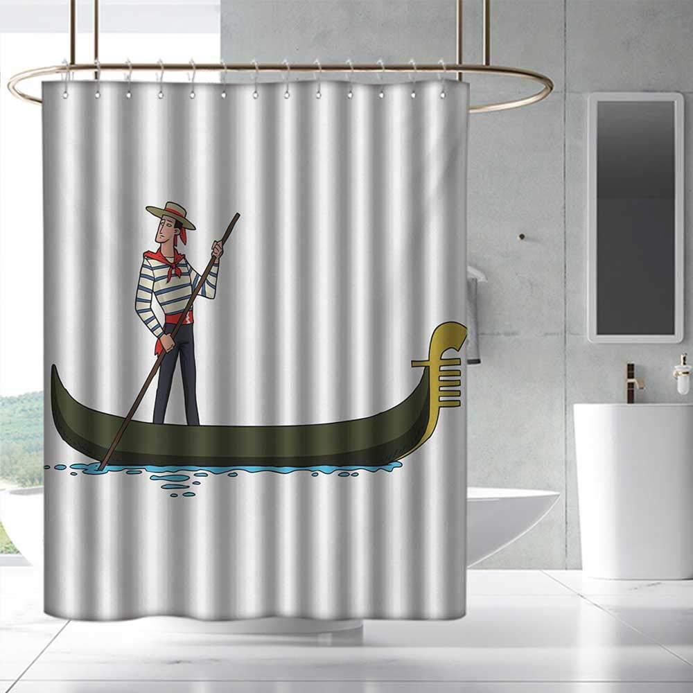 Amazon.com: homehot cortinas de ducha para niñas con dibujos ...