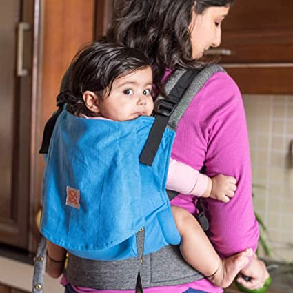 d31cb795332 Buy Kol Kol Baby Carrier Electric Blue Compact (6 Months - 3.5 Years ...
