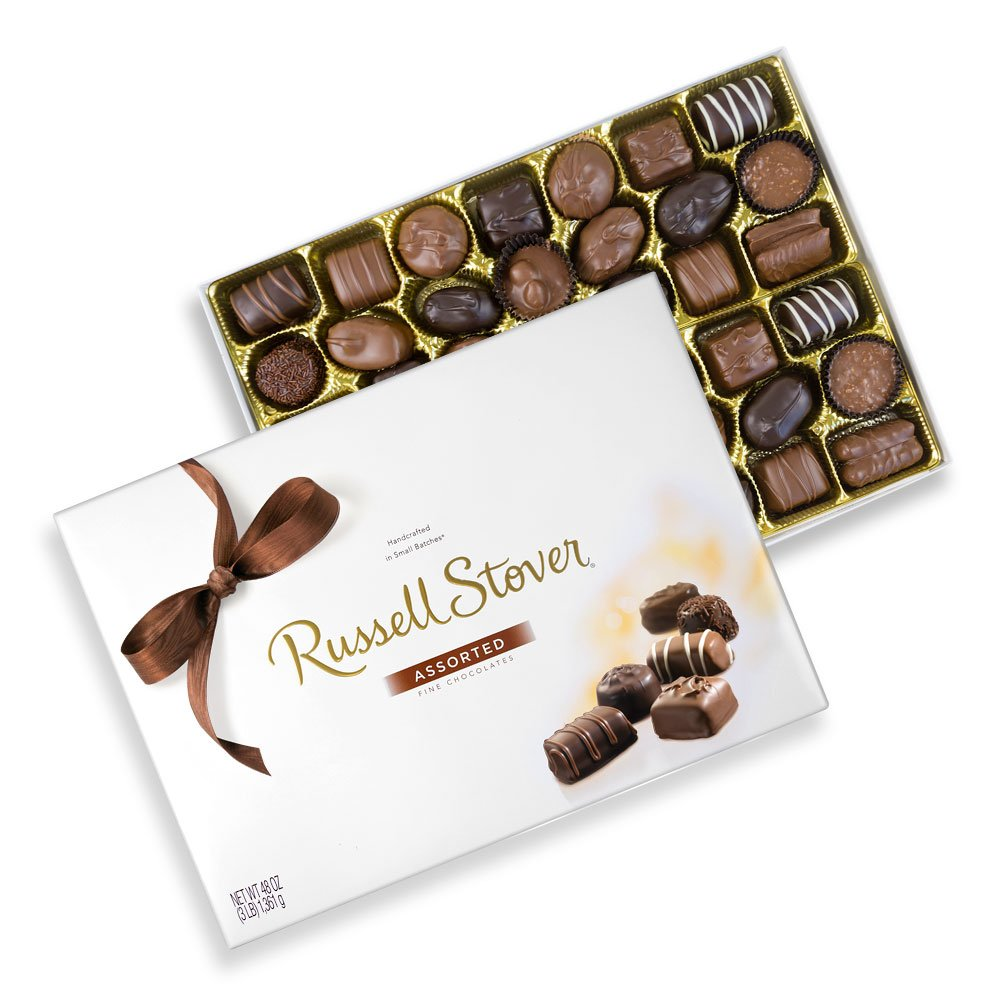 Russell Stover Assorted Chocolates, 48 oz. Box by Russell Stover