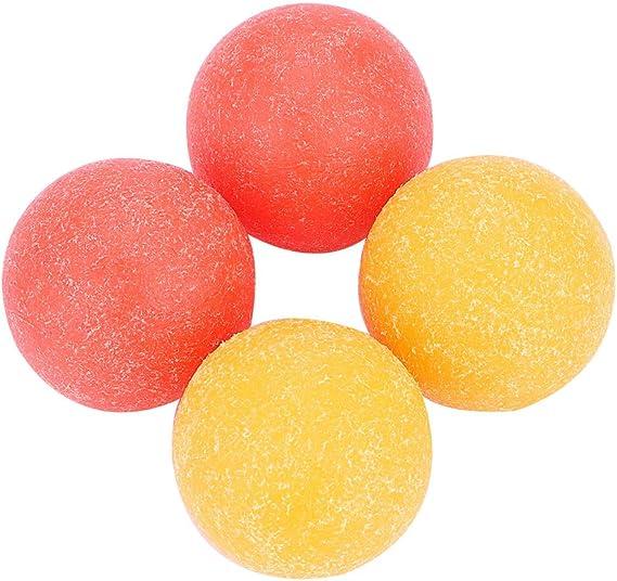 Pelotas Ásperas de Futbolín Mini Juego de Mesa de Fútbol Balones Bolas Mesa de Juego Dia 36mm 4 Piezas: Amazon.es: Juguetes y juegos