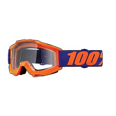100% Accuri Origami Masque de Vtt Mixte Adulte, Orange