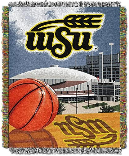 The Northwest会社Wichita State Shockers Home Field Advantage Woven Tapestry Throw