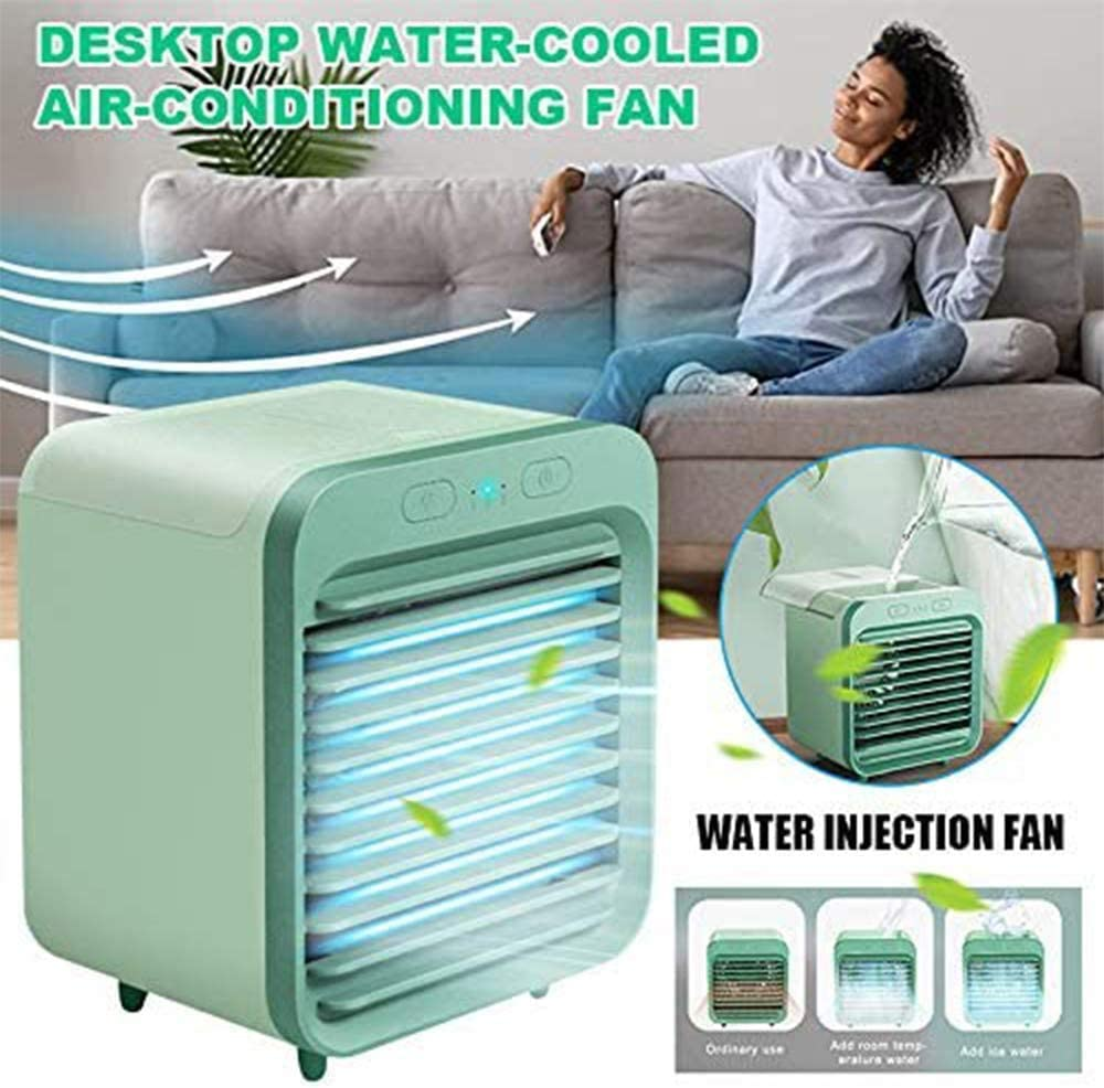 2020 Portable USB Rechargeable Water-cooled Air Conditioner Can Be Used Outdoors