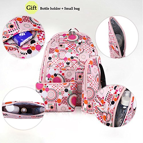 Amazon.com : 2015 Multifunction Mummy Nappy Bag Infant Baby Diaper Bags Large Capacity Mother Double Shoulders Bolsas Backpack Bebek Cantasi : Baby