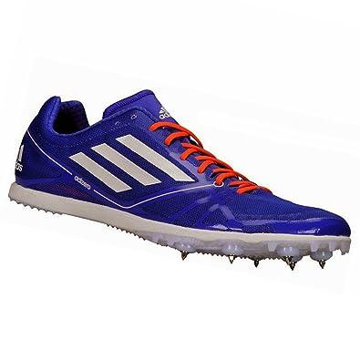 reputable site 91ed6 d92b2 adidas Performance-Chaussure Athlétisme Adizero Avanti 2 AT Bleu B24206 -  Taille UK 10.5 -