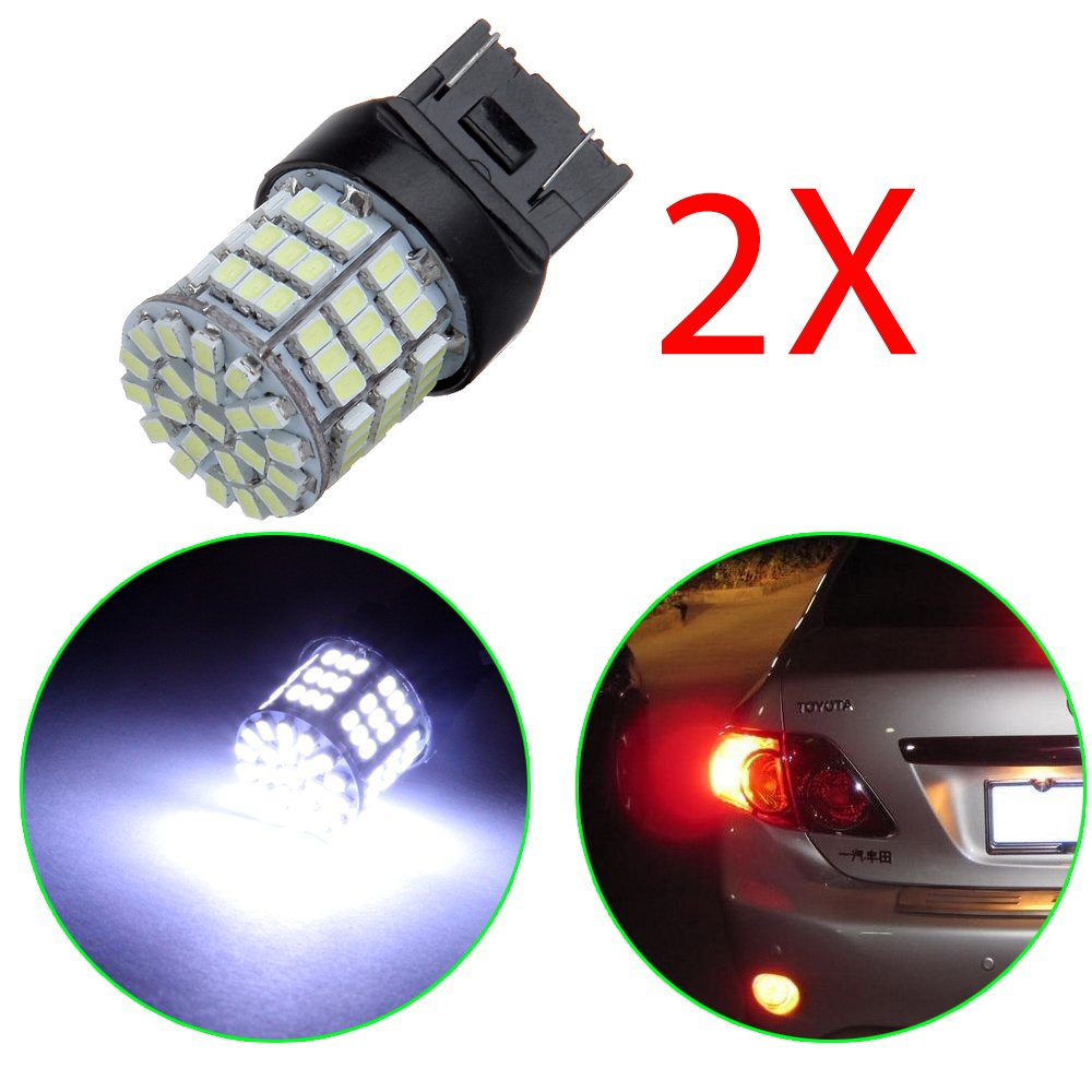 OCPTY 7443 7440 7444NA 85SMD 3020 White LED Bulb Replacement fit for Tail Light, 2Pack 992515-5209-1912077621