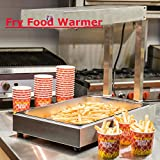 Commercial Electric French Fry Deep Display Warmer Dump Station Heat Lamp 110V (ITEM#181202)