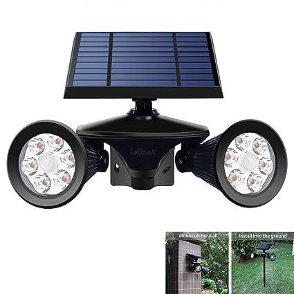Mpow 2018 Newest 66 LED Solar Power Motion Sensor Light for Outdoor Garden Patio