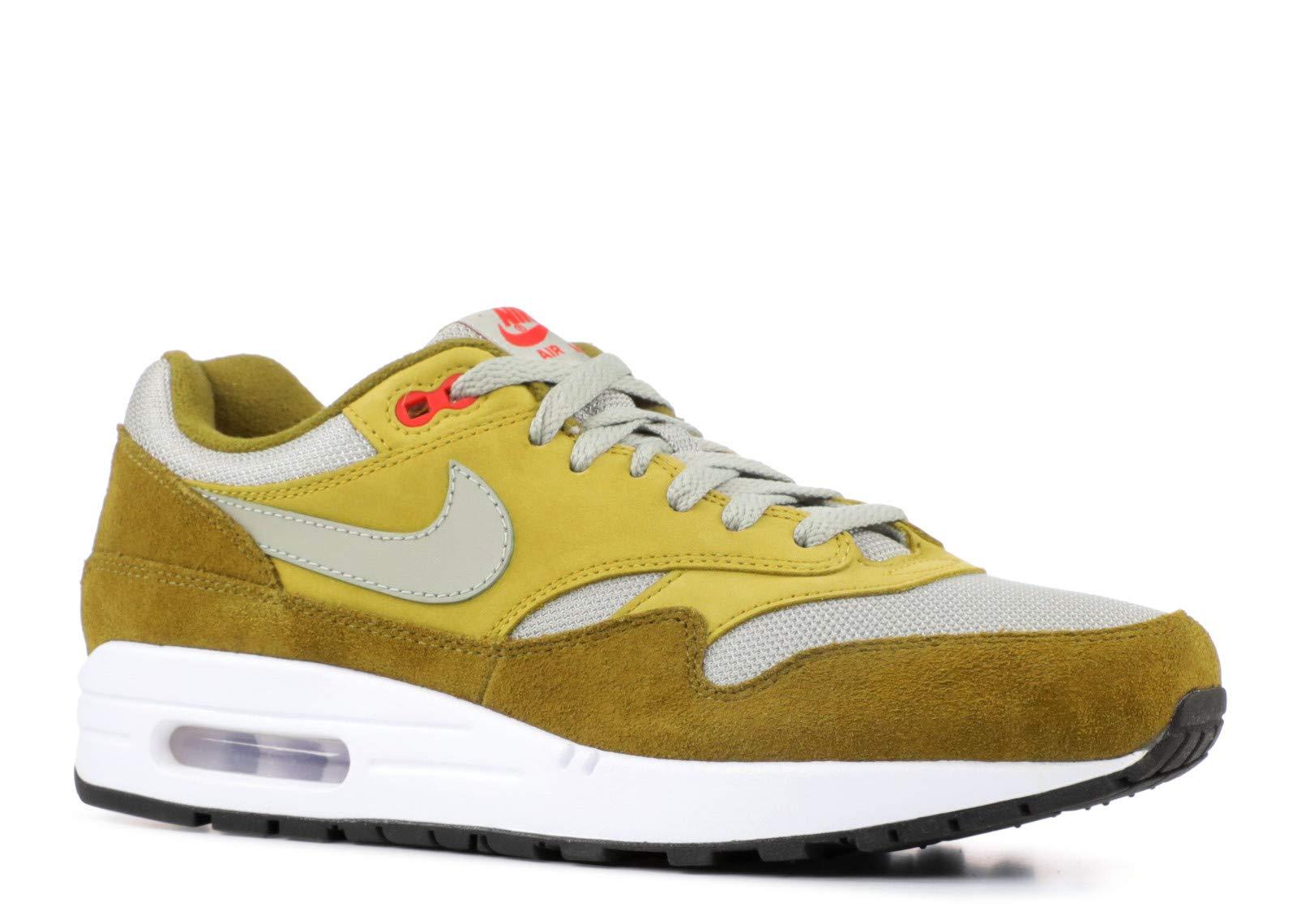 best website 20f65 ebe93 NIKE Air Max 1 Premium Retro Men's Shoes Olive Flak/Spruce Fog 908366-300  (11.5 D(M) US)