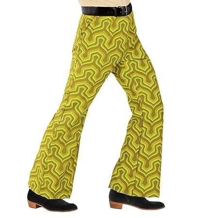 shoperama Retro de los años Setenta - Pantalones para Hombre ...