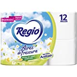 Regio Regio Aires De Frescura Toilet Paper 12 Rolls, Color, 12 Count, Pack Of/Paquete De