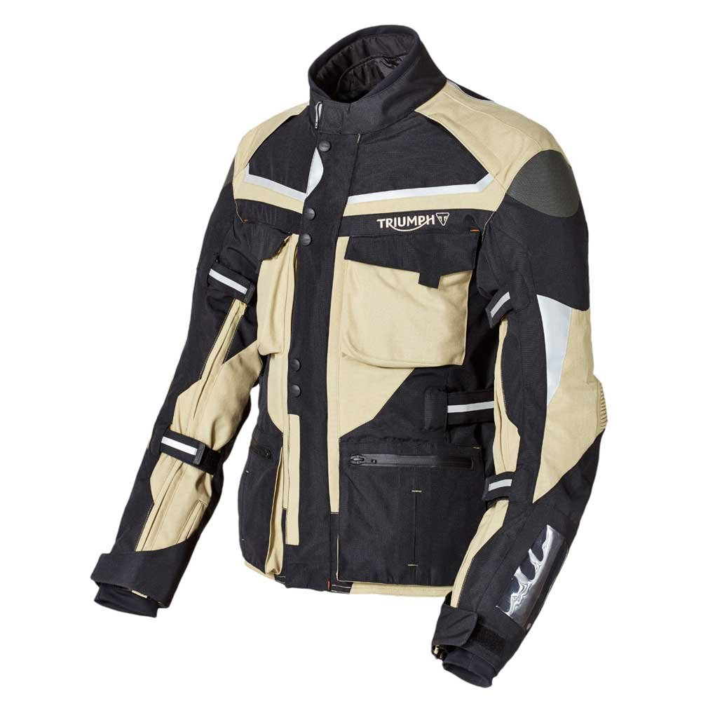 Amazon.com: Triumph Trek Jacket L Tan: Automotive