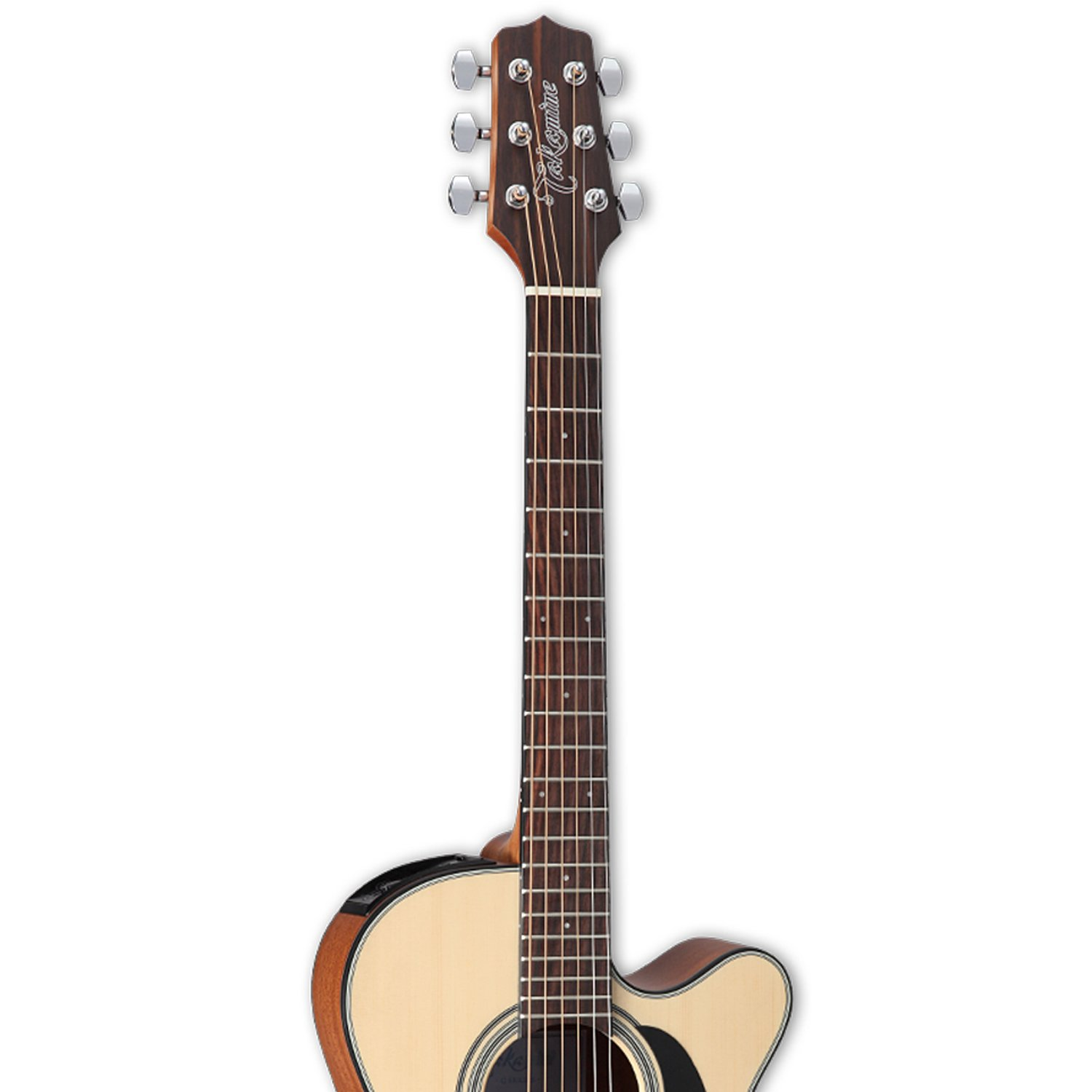 Takamine GX18CE Solid Spruce 3/4 Size Taka-mini Acoustic-Electric Guitar with Gig Bag by Takamine