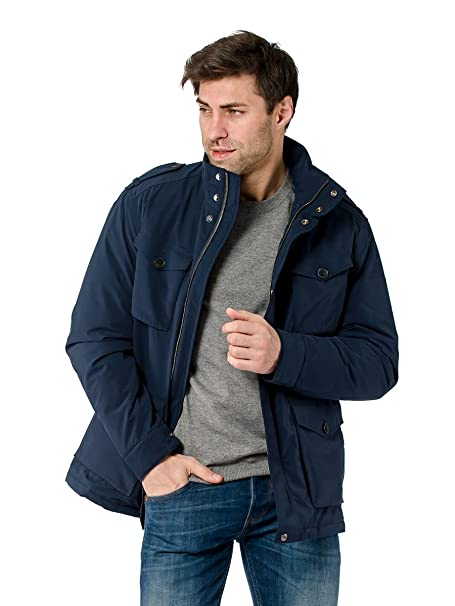 Gant - Chaqueta Impermeable - para Hombre Azul Marino XXX ...