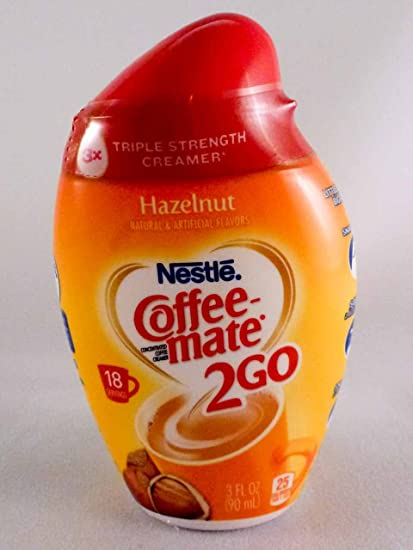 Nestle Coffee Mate 2 Go Hazelnut Concentrated Liquid Coffee