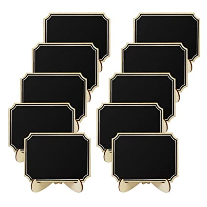 SUPVOX 10 piezas mini pizarras pizarra rectangular carteles ...