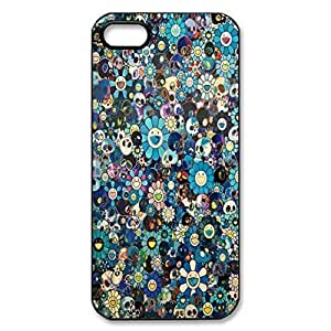 Back phone case with Beautiful Scared Skull design for iphone 4 4s