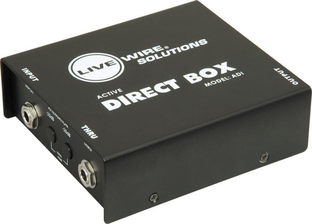 Livewire ADI Active DI Caja directa: Amazon.es: Instrumentos musicales