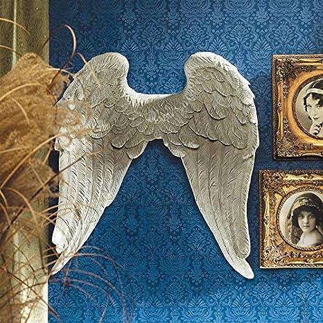 Amazon.com: Design Toscano Celestial ángel alas pared ...