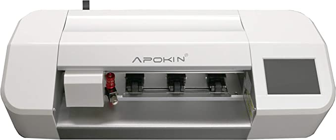 Plotter Apokin Maquina + 120 Laminas para Protectores de Silicona para Móviles Tablets, Smartband y Tablet: Amazon.es: Electrónica
