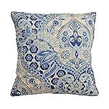WAVERLY Moonlit Shadows Decorative Pillow, 20x20, Lapis