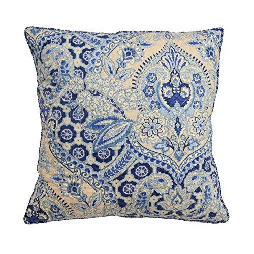 Waverly Square Print (Waverly Moonlit Shadows Decorative Pillow, 20x20, Lapis)