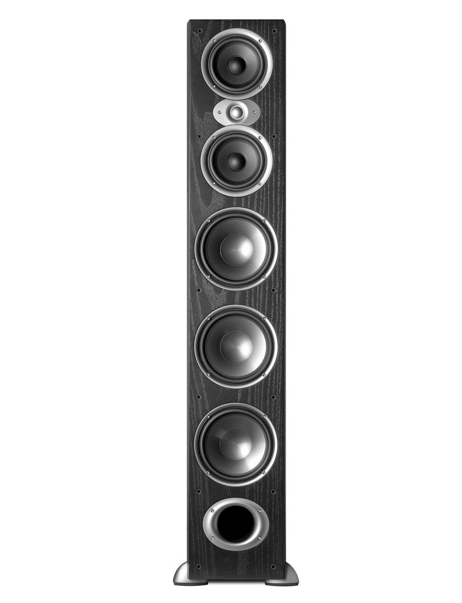 Polk Audio RTI A9 Floorstanding Speaker (Single, Black) by Polk Audio