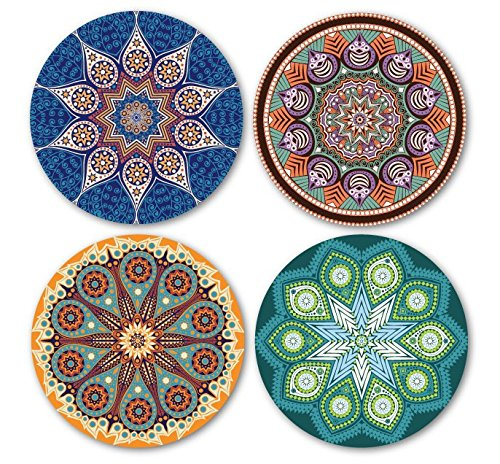 coastero-absorbent-stone-coasters-mandala-set-of-4