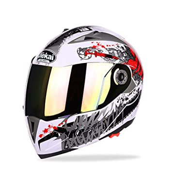 Goolife Moto Crash Modular Helmet High Safety- JIEKAI Full Face Racing Casco De Moto con
