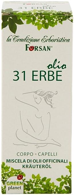 75 opinioni per La Tradizione Erboristica Forsan Olio 31 Erbe