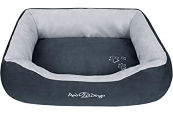 Amazon.com : Red Dingo Dark Grey/Light Grey Pet Bed, Donut, Small : Reddingo Bed : Pet Supplies