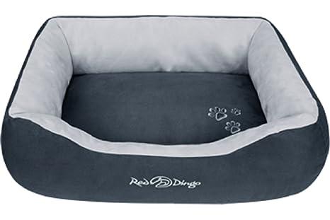Red Dingo - Cama para Mascotas, Color Gris Oscuro y Gris Claro