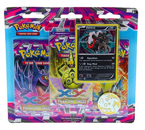 - Pokemon Blister Pack, XY Phantom Forces Darkrai