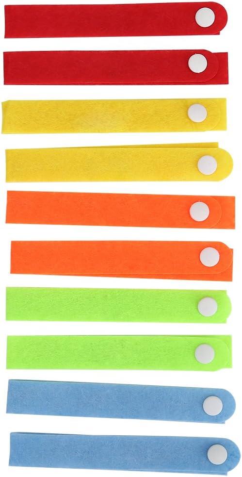 10 St/ück Outdoor Indoor leichte M/ückenschutz Armband Armband verstellbare M/ückenschutz Armband f/ür Erwachsene Kinder Qii lu Sommer nat/ürliches Moskito Insektenschutzmittel Armband