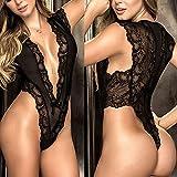 Lingerie Racy Sleepwear Fashion Women Sexy Black
