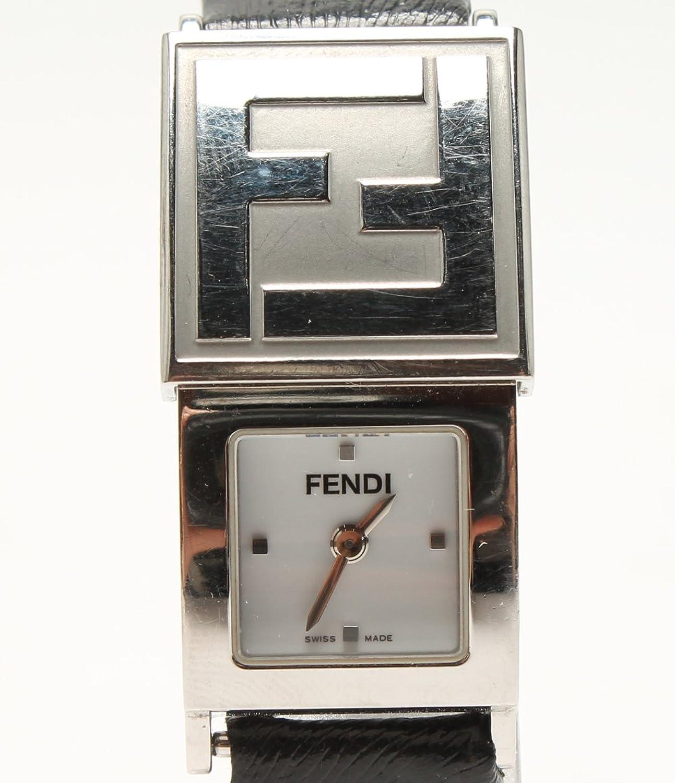 フェンディ 腕時計 シークレット 5400L 005-238 クオーツ ホワイト FENDI レディース 【中古】 B07D5LDTJG