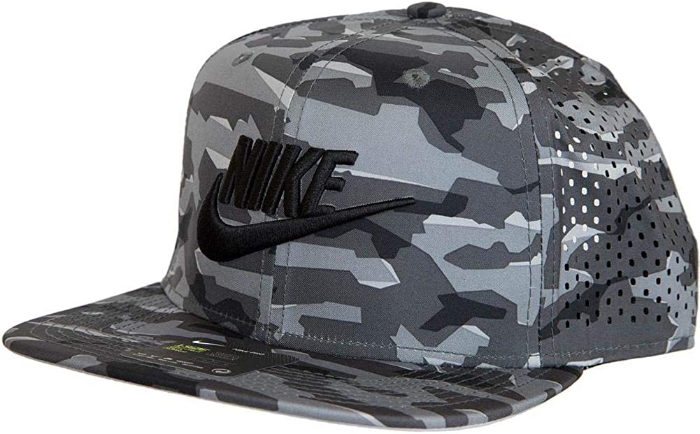 Nike - Gorra de béisbol - para Hombre Gris y Negro Talla única ...