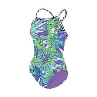 Dolfin Uglies V-2 Back - Dazzle -Swimsuit Bathing Swimming Suit Costume Swimwear