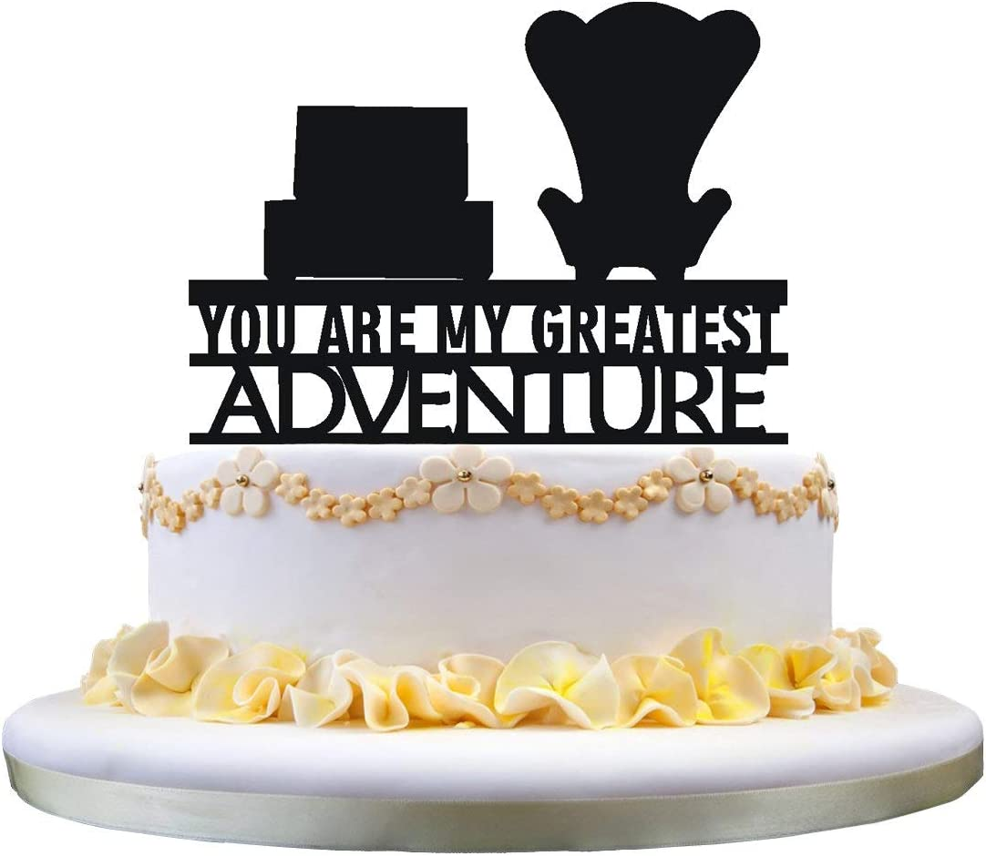 Up You are my Greatest Adventure Wedding Cake Topper,party decoration,cake decor