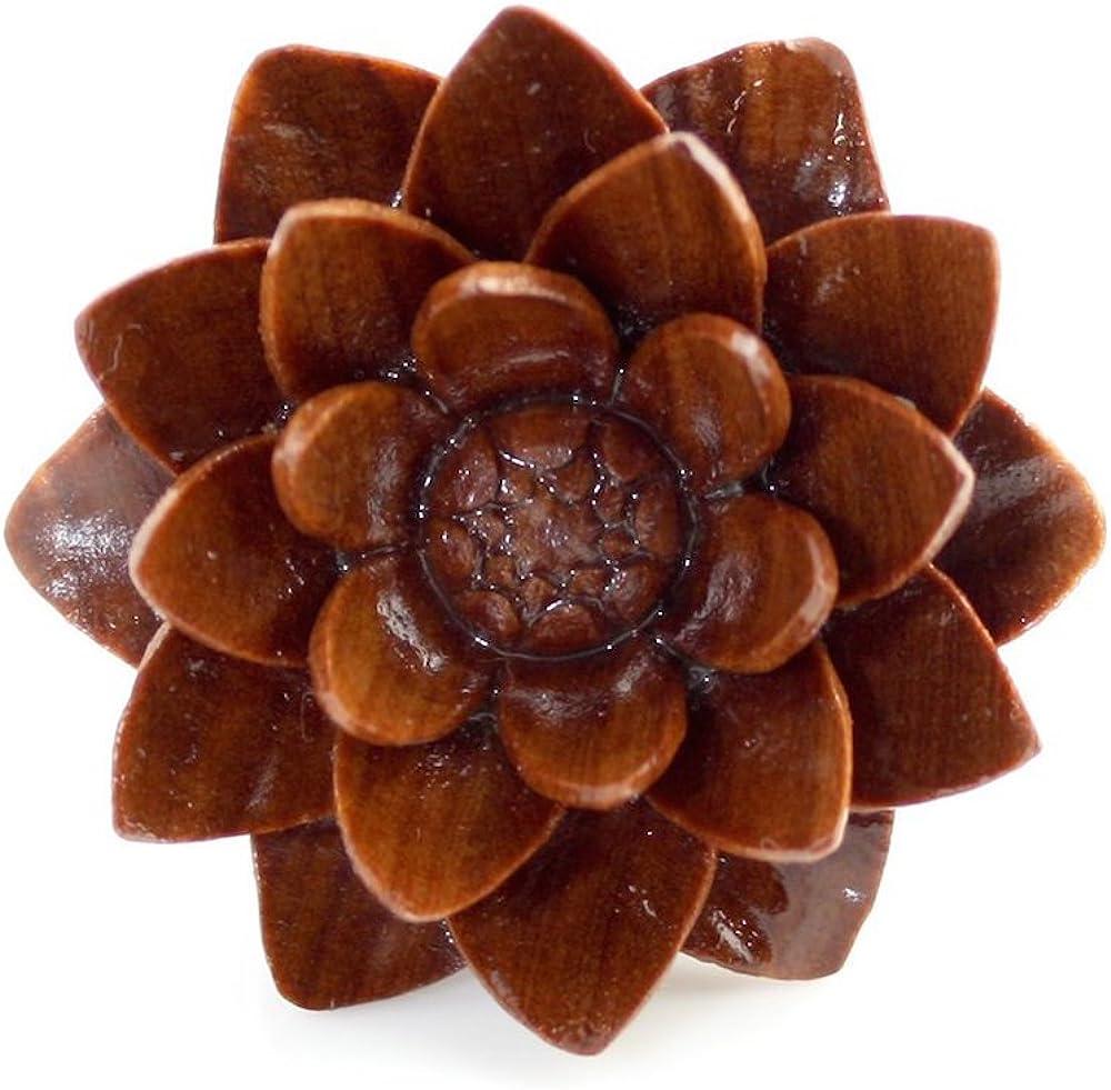 Chocolate Rose Smooth WildKlass Plugs Sold as Pairs